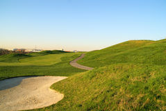 Beautiful Golf hill Royalty Free Stock Photos