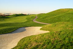 Beautiful Golf Hill Royalty Free Stock Images