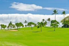 Beautiful golf place. Stock Photos