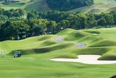 Beautiful golf place with nice green color, Taiwan Stock Photos