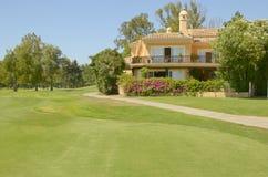 Beautiful golf villa Royalty Free Stock Images