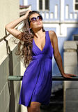 Beautiful Gorgeous Woman In Sunglasses Royalty Free Stock Photography