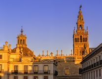 Cathedral of Saint Mary of the See. Seville, Spain. Stock Photo