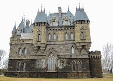 Beautiful Gothic castle. Samara region. 20 April 2017 stock image