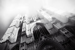 Beautiful Gothic cathedral from Bruxelles Brusels Stock Images