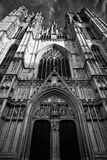 Beautiful Gothic cathedral from Bruxelles Brusels Stock Photos
