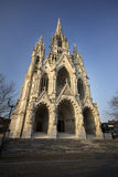 Beautiful Gothic cathedral from Bruxelles (Brusels) - Belgium Royalty Free Stock Photo