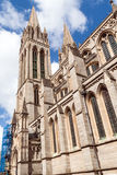 Beautiful gothic cathedral Stock Images