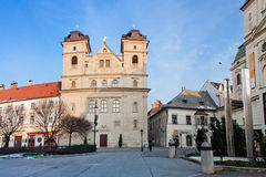 Beautiful gothic church in Kosice Royalty Free Stock Images