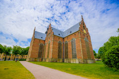 Beautiful gothic church in Kristianstad, Sweden Stock Photos