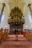 Beautiful gothic church in Kristianstad, Sweden Royalty Free Stock Image
