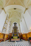 Beautiful gothic church in Kristianstad, Sweden Stock Photography