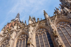 Beautiful Gothic style cathedral in Den Bosch, Netherlands Stock Photos