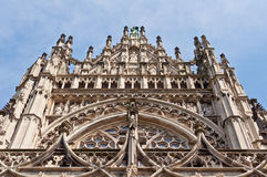 Beautiful Gothic style cathedral in Den Bosch, Netherlands Stock Image