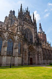 Beautiful Gothic style cathedral in Den Bosch, Netherlands. Detailed exterior design of the most popular landmark in Den Bosch Stock Photo