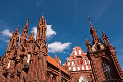 Beautiful Gothic Style St. Anne Church Royalty Free Stock Photo
