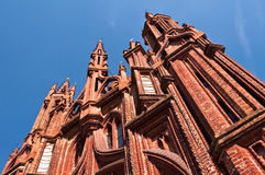 Beautiful Gothic Style St. Anne Church Stock Photo