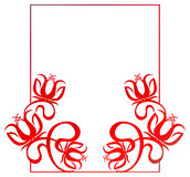 Beautiful gradient frame. Raster clip art. Royalty Free Stock Images