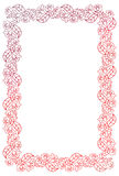 Beautiful gradient frame. Raster clip art. Royalty Free Stock Photography