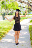 Beautiful graduate Royalty Free Stock Images