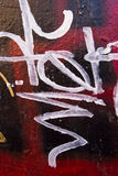 Beautiful graffiti Royalty Free Stock Photography