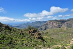 Grand Canaria landscape stock images