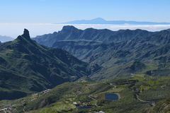 Beautiful Gran Canaria mountain landscape. Canary island, Spain royalty free stock image