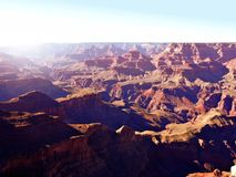 Beautiful Grand Canyon Stock Photo