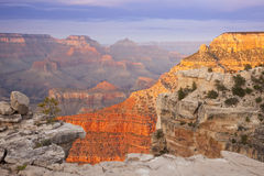 Beautiful Grand Canyon Landscape View Royalty Free Stock Photos
