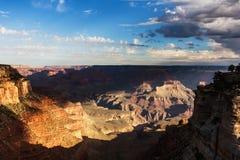 Beautiful Grand Canyon scene Stock Photos