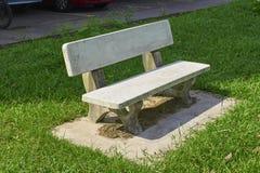 Beautiful granite bench Royalty Free Stock Photos