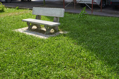 Beautiful granite bench Stock Photography