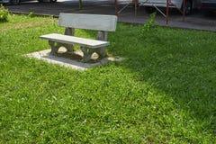 Beautiful granite bench Stock Photography