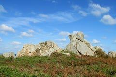 Beautiful granite rock royalty free stock photography