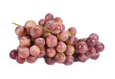 Beautiful grapes isolated on white Stock Photos