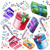 Beautiful graphic lovely wonderful holiday new year bright winte Royalty Free Stock Photos