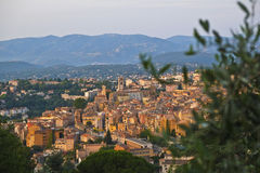 Beautiful Grasse in the morning Stock Photography