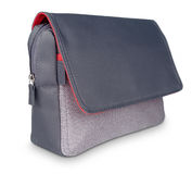 Beautiful gray-red laptop bag  Royalty Free Stock Image