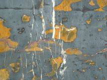 Beautiful gray stone with orange and white spots royalty free stock image