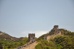 Beautiful the Great Wall Royalty Free Stock Images