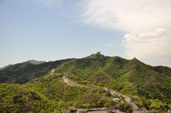 Beautiful the Great Wall Stock Photo
