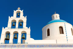 Beautiful greek church Royalty Free Stock Photo