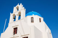 Beautiful greek church Royalty Free Stock Image