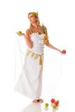 Beautiful Greek goddess Royalty Free Stock Images
