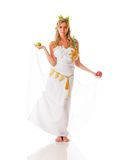 Beautiful Greek goddess Royalty Free Stock Photography