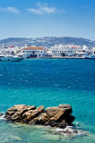 The beautiful Greek island, Mykonos Royalty Free Stock Photo