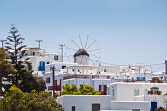 The beautiful Greek island, Mykonos Stock Photography