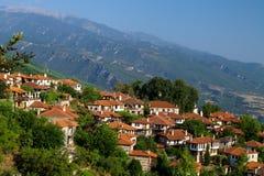 Beautiful Greek landscape Stock Photography
