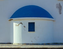 Beautiful greek style church in Protaras on Cyprus Royalty Free Stock Photography