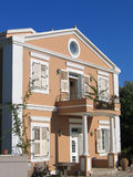 Beautiful greek villa Stock Photo